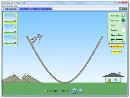 Screenshot of the simulation Energy Skate Park: Basics