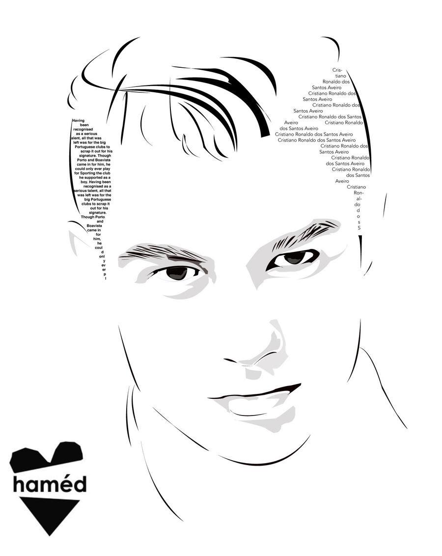 Dibujos Para Colorear De Cristiano Ronaldo Imagui