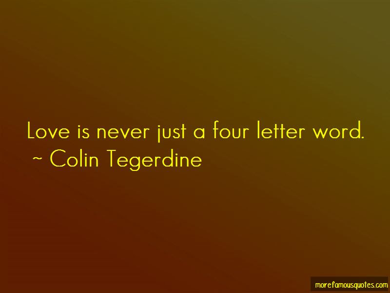 Four Letter Love Quotes Top 19 Quotes About Four Letter Love From