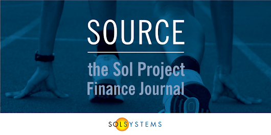 SOURCE: The Sol Project Finance Journal, July 2016 | Sol Systems Blog