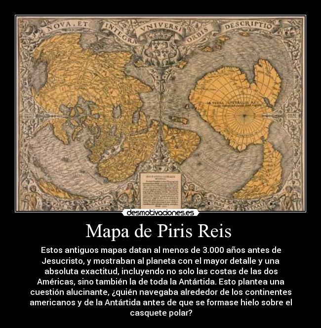 Mapa De Piris Reis Desmotivaciones