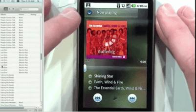 gingerbread musica El nuevo reproductor de música en el que está trabajando Google listo para su descarga