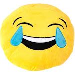Altatac Home Decor Throw and Travel Pillow, Tears of Joy Emoji