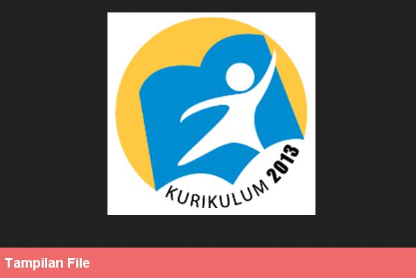 File Pendidikan Perangkat Pembelajaran Rpp Kurikulum