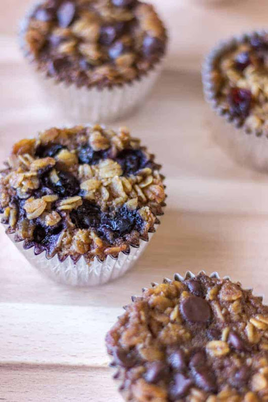 To-Go Baked Oatmeal Recipe