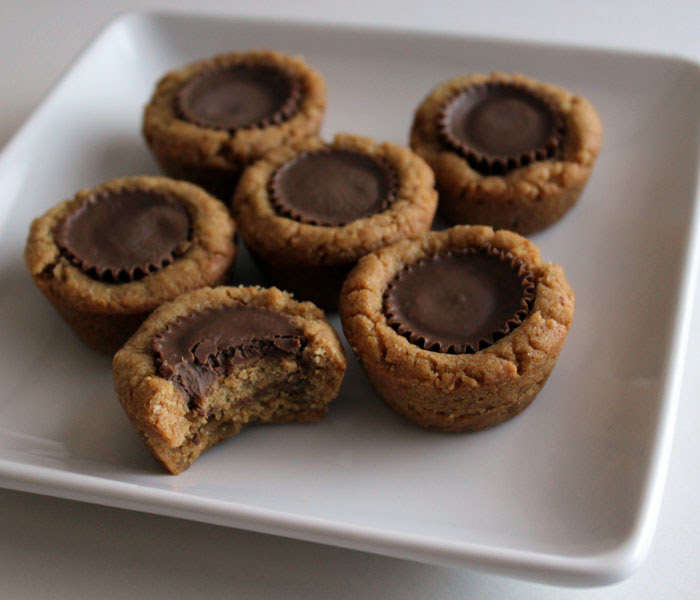 4 Ingredient Peanut Butter Cup Cookies