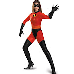 Mrs. Incredible Bodysuit Costume Adult Costume