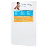 Dream On Me 3'' Extra Firm Mini Portable Crib Mattress in White - 24X