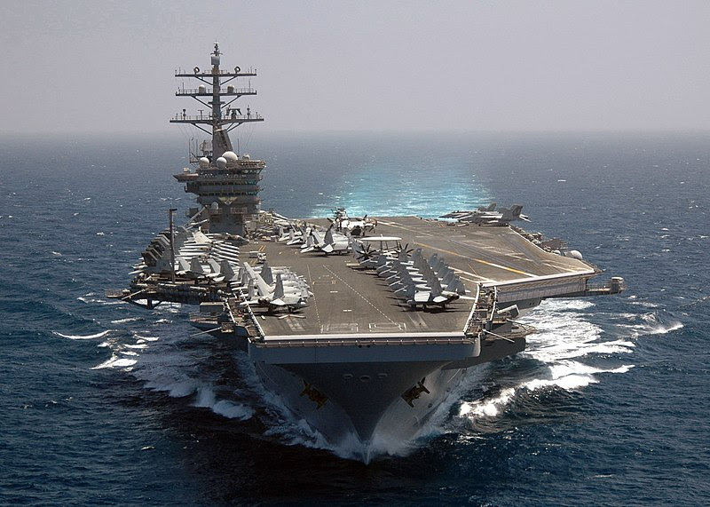 File:US Navy 070508-N-0490C-005 Nimitz-class aircraft carrier USS Dwight D. Eisenhower (CVN 69) transits the Mediterranean Sea.jpg