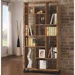 Coaster 801236 Antique Nutmeg Bookcase
