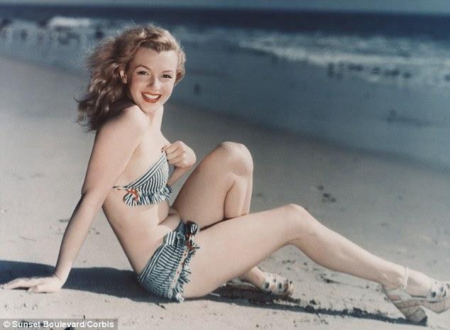 Quase 50 anos após sua morte, Marilyn Monroe foi nomeado o corpo perfeito de todos os tempos