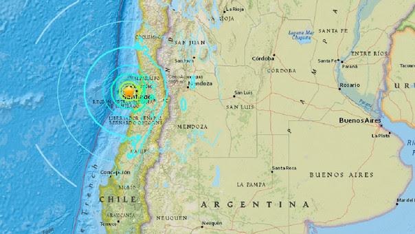 SISMO 6,9 GRADOS EN CHILE - NOTICIAS EN VIVO