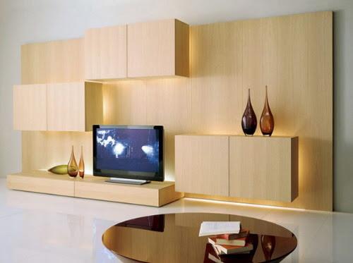 Life Modern TV Storage Wall Unit by Acerbis International
