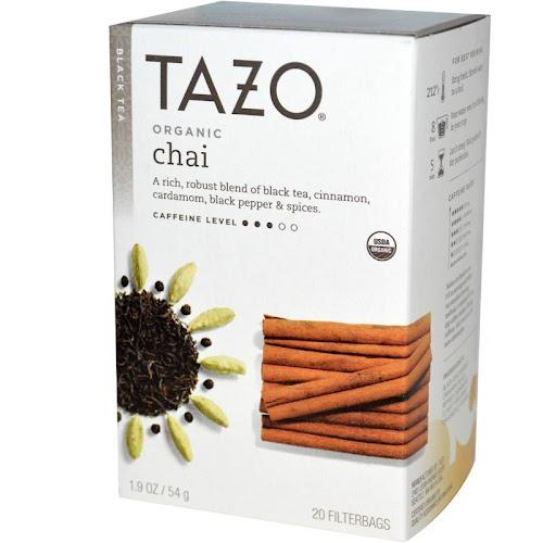 Tazo Organic Chai Black Tea - 20 bags, 1.9 oz box