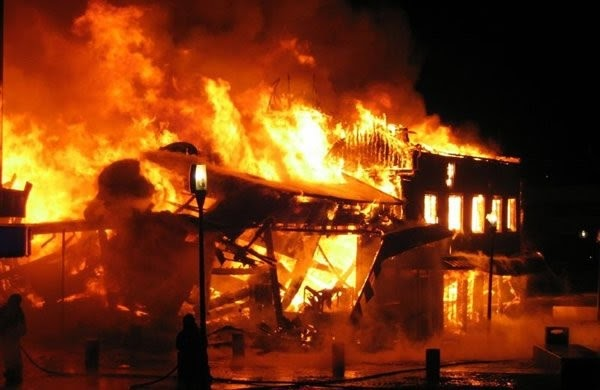 This Is Why Anambra Youths Burnt Down A Church In Ekwulobia