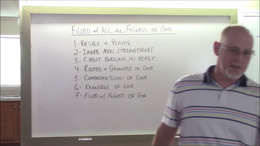 Filled With the Fullness of God 1HD - YouTube