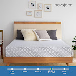 "Novaform 12"" Advanced Back Support Memory Foam Twin Mattress"