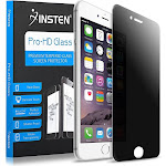 Insten Privacy Filter Anti-Spy Tempered Glass Screen Protector for Apple iPhone 8 iPhone 7 4.7 inch