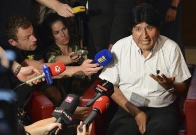 "Evo Morales recomenda que Europa se liberte do ""império norte-americano"""