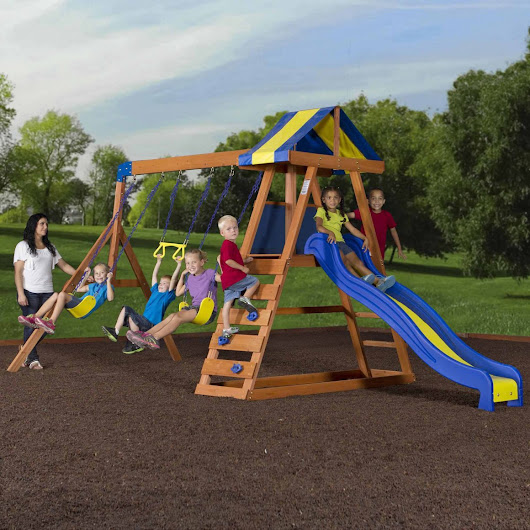 Top 5 Wooden Swing Sets Under 500 Dollars