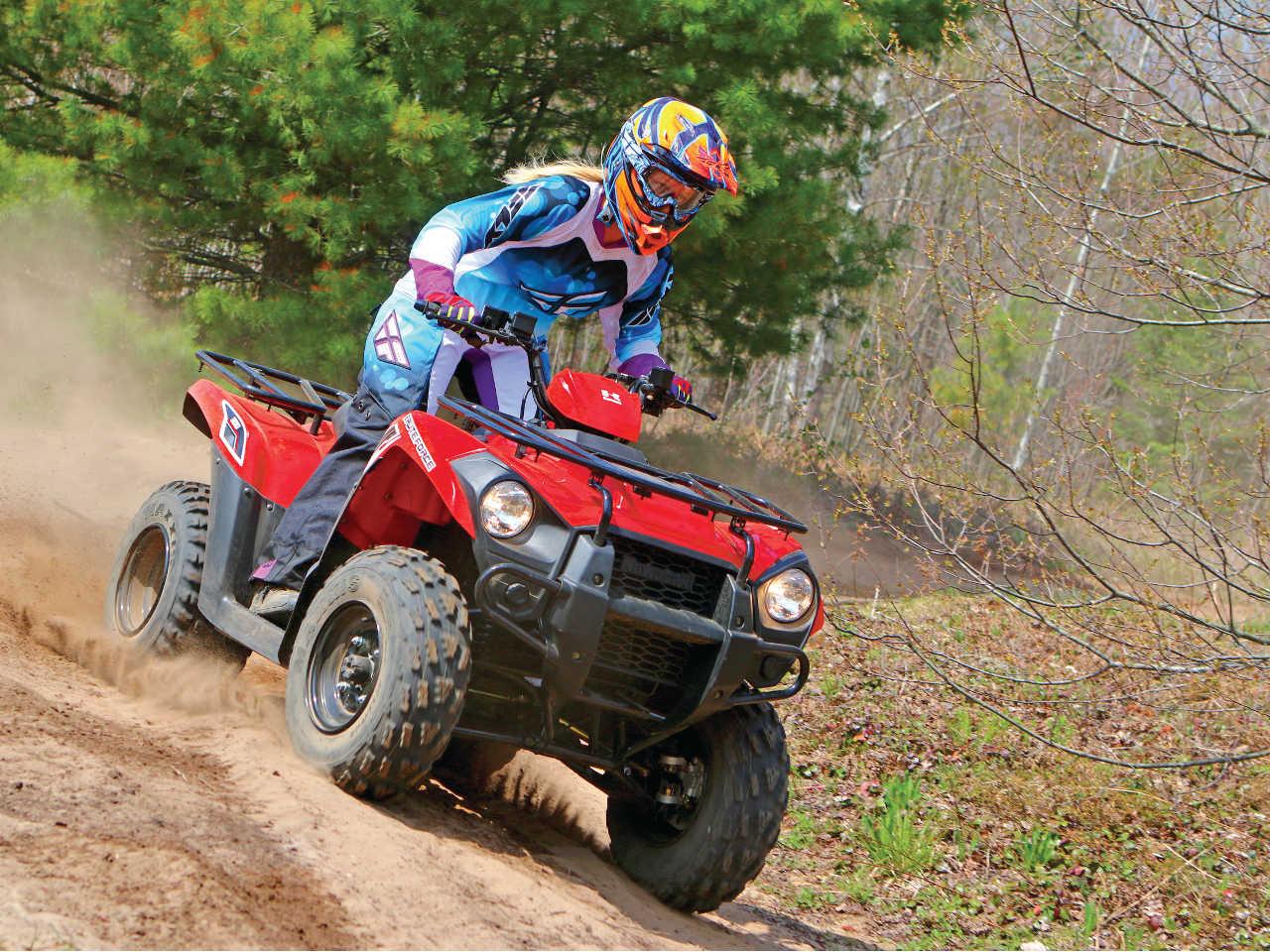 Test Ride Team Player Atv Illustrated