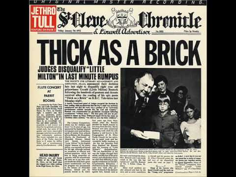 Jethro Tull - Thick As A Brick - YouTube