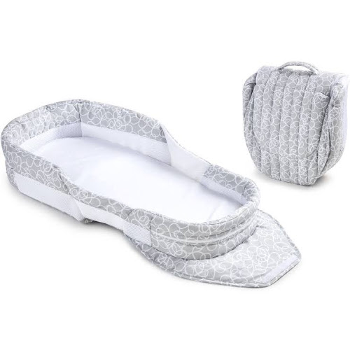 Baby Delight Snuggle Nest Surround BL, Grey