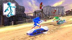 Sonic Free Riders - TGS Screens