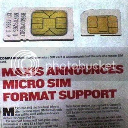 Maxis Micro Sim Card