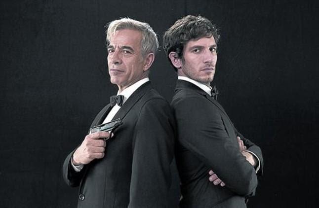 Imanol Arias y Quim Gutiérrez protagonizan Anacleto: agente secreto.