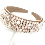 Pearl Wedding Headband, Hair Accessories for Women, Bride Headband