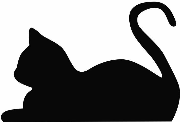 Download Cat Clip Art Silhouette - Cliparts.co
