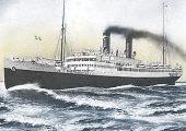 Barco Mexique, ex Lafayette de la Cia Generale Trasatlantique. 15.000 tons eslora 172