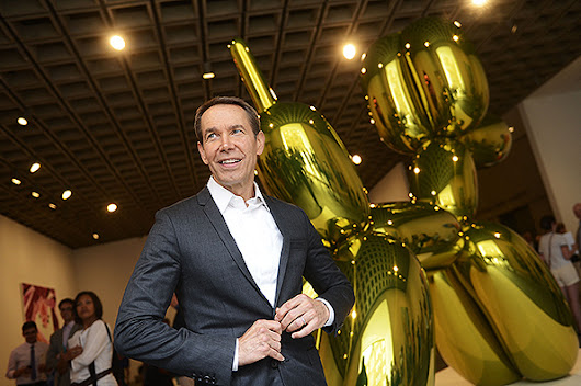 Jeff Koons Radically Downsizes His Studio, Laying Off Half His Painting Staff | artnet News