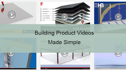 A Simple 3 Step Process to Create Building Product Videos | Visual Construction Marketing by Jason Yana