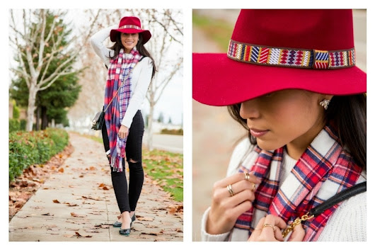 A Stylish Winter Accessory - A Red Winter Hat