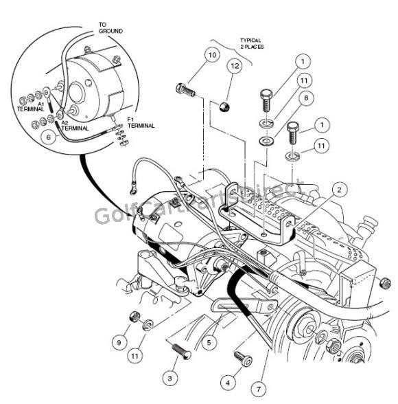 Wiring Diagram: 33 Club Car Starter Generator Wiring Diagram