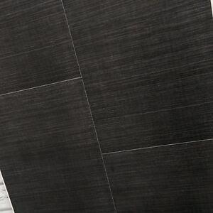 9 x Dark Grey Anthracite Large Tile Effect Bathroom Shower ...