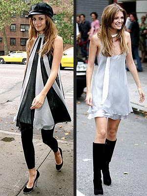 fashion dresses of Mischa barton