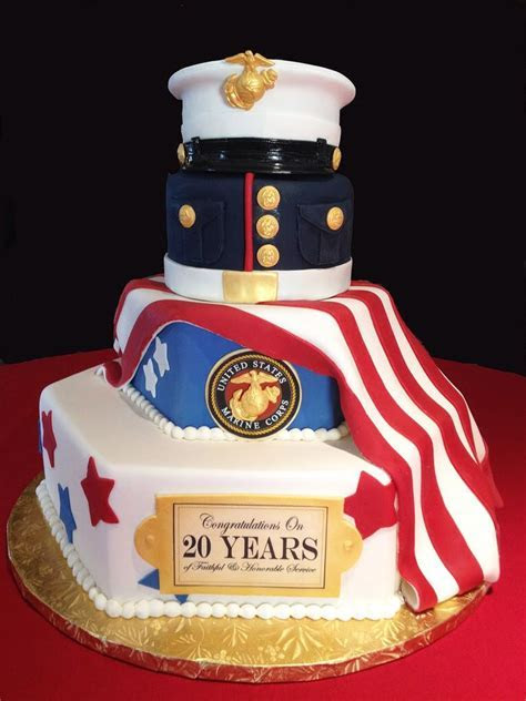 Military Retirement Cake Decorating Ideas   Decoration For