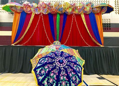 Umbrella design for pre wedding, garba, Mehndi nights