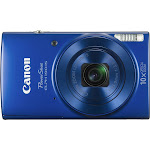 Canon - PowerShot ELPH 190 20.0-Megapixel Digital Camera - Blue