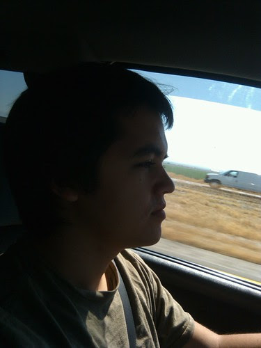 Ryan behind the wheel