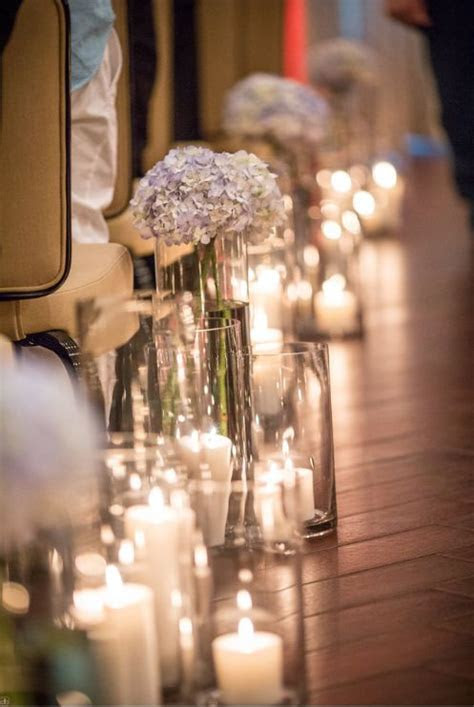 Best 25  Wedding aisle candles ideas on Pinterest   Winter