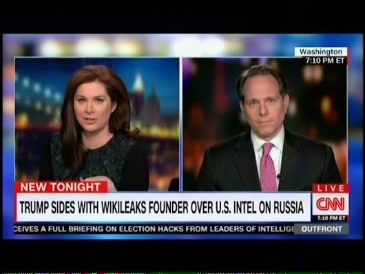 "Former Bush Advisor On CNN: ""Citing Julian Assange Is Just Offensive I Think To The Intelligence Community"""