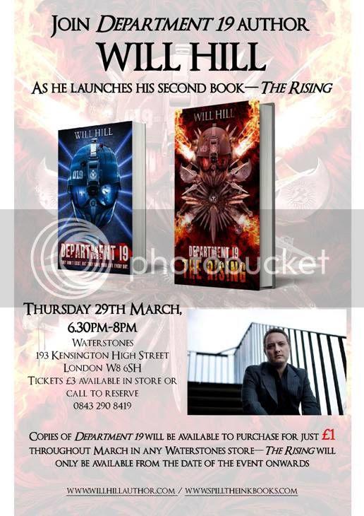 Department 19: The Rising event invite
