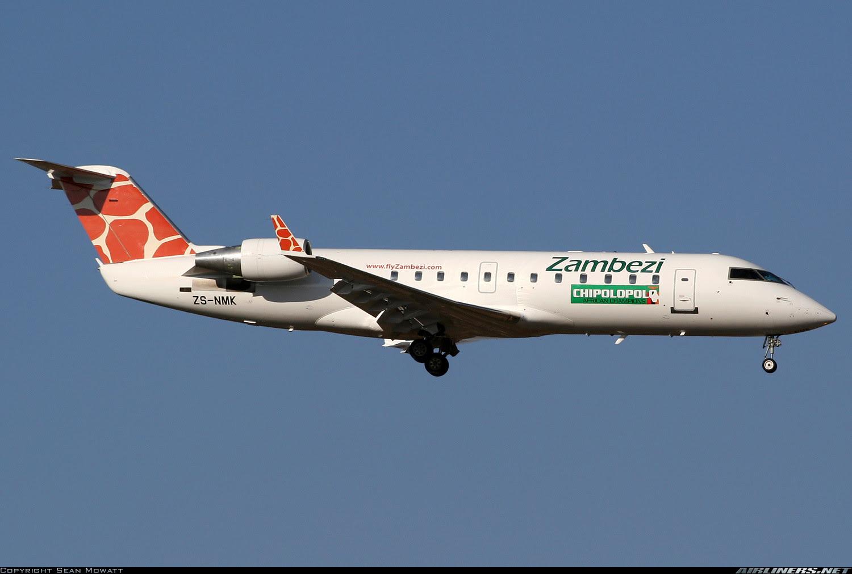 Zambezi Airlines CRJ-200