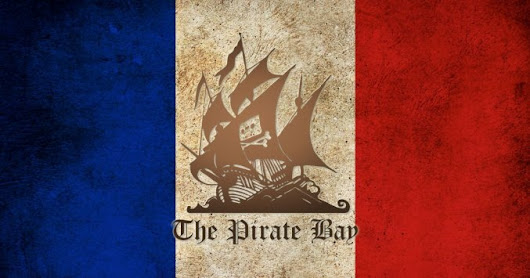 Ordenan bloquear el acceso a The Pirate Bay en Francia