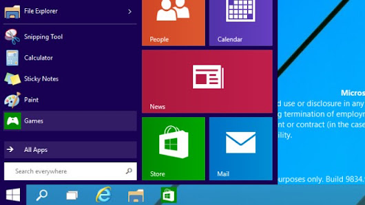 Windows 9 Technical Preview: Erste Screenshots zeigen Neuerungen - WinFuture.de