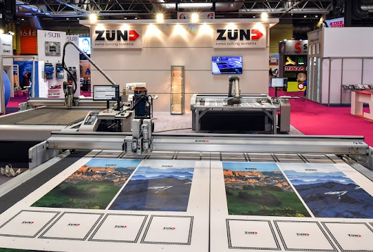 Zünd cutting solutions at Sign & Digital UK